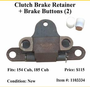 cub 154 clutch replacement
